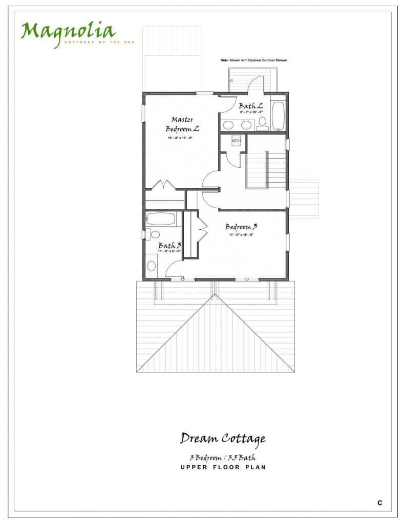 three bedroom or four bedroom cottage seacrest fl house