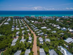magnolia dream cottages - aerial